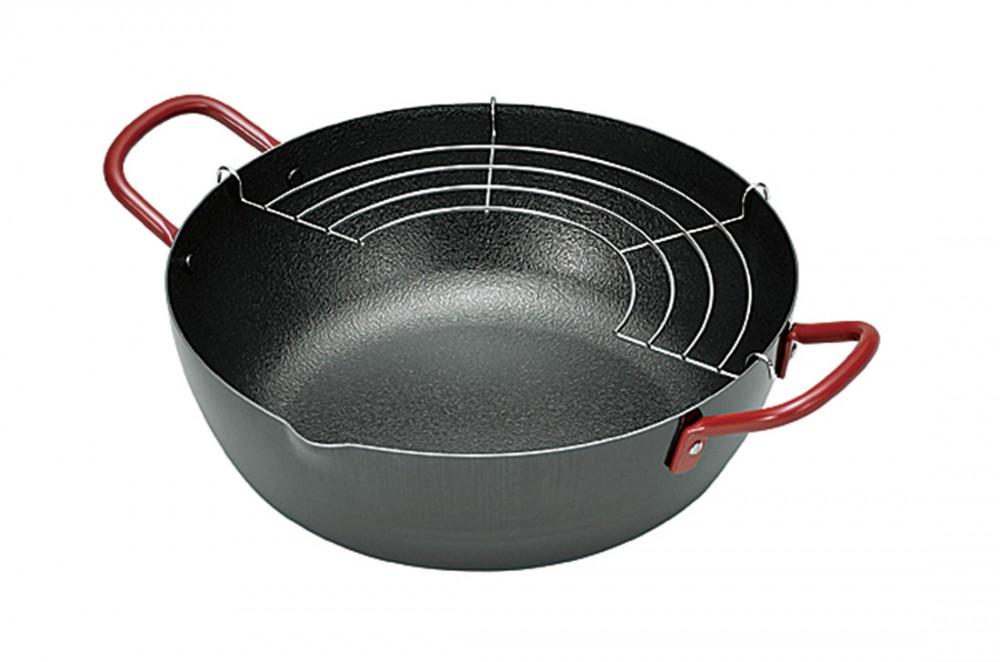 天ぷら鍋24cm