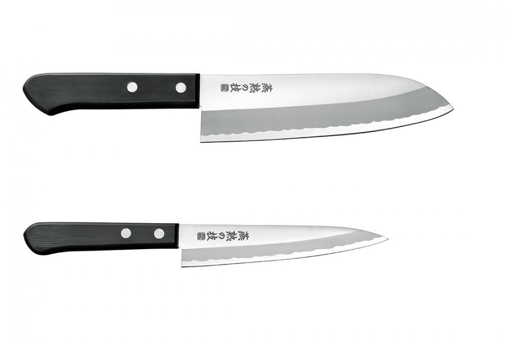 三徳包丁165mm&ペティナイフ135mm