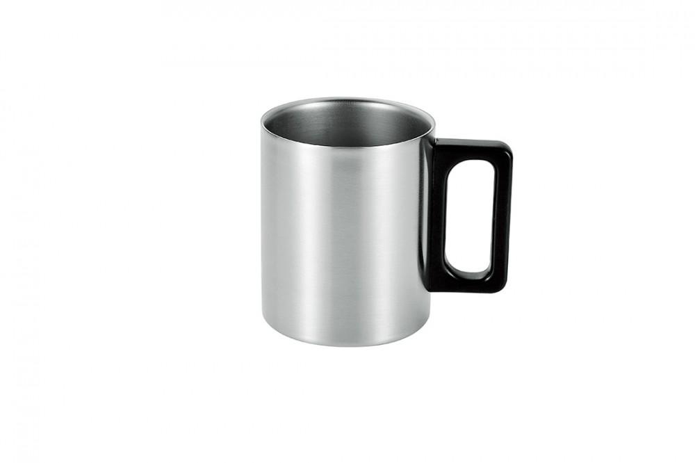 ステンレス二重マグカップ300ml(サテン仕上げ)