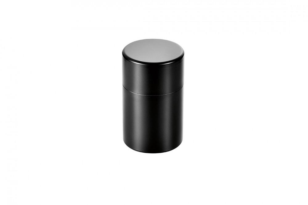 茶筒(ブラック仕上げ)