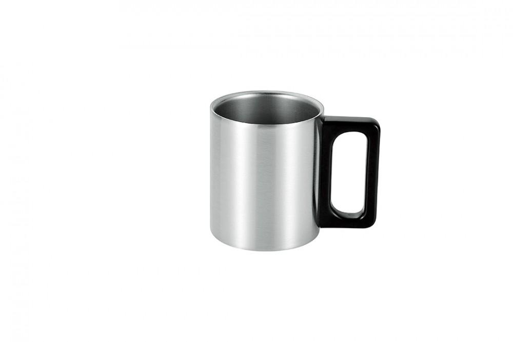 ステンレス二重マグカップ230ml(サテン仕上げ)