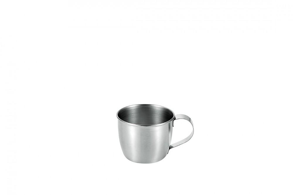 ステンレスマグカップ100ml(サテン仕上げ)