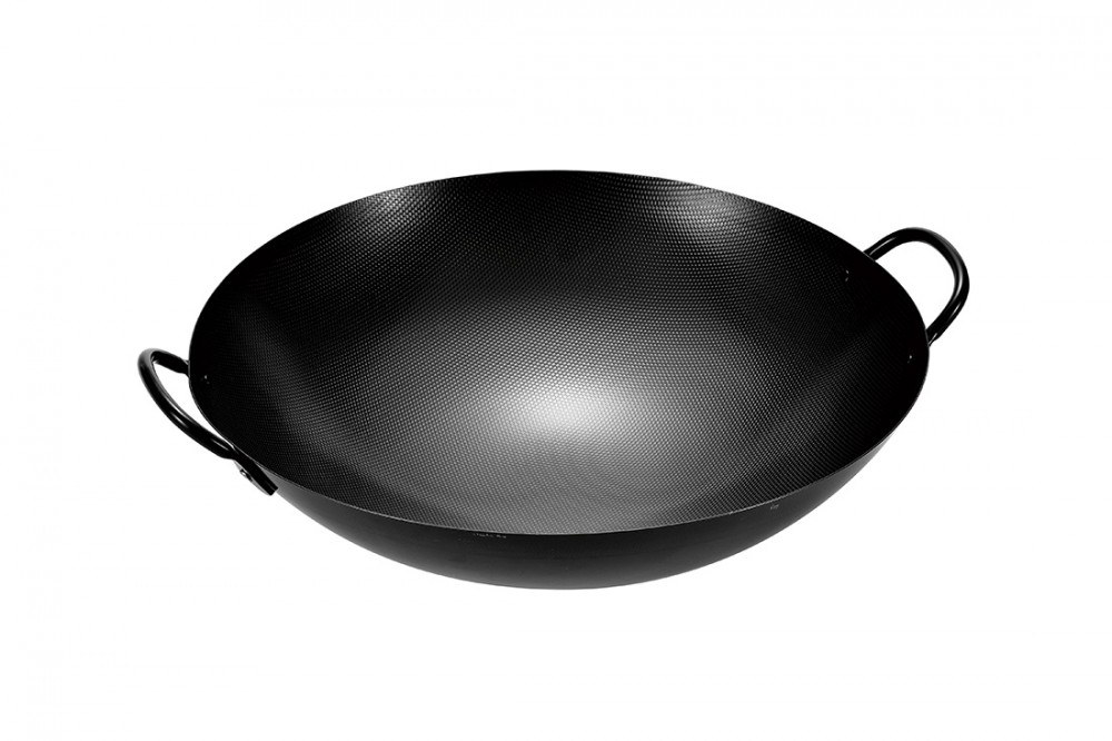 エンボス加工中華鍋42cm(小箱なし)